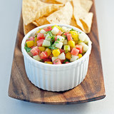 Watermelon Mango Salsa Recipe