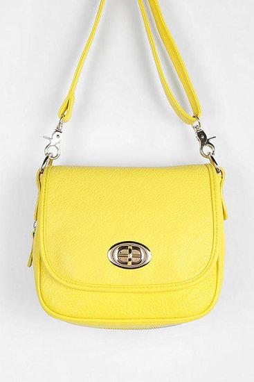 Cooperative Contrast-Zip Crossbody Bag