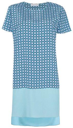 Richard Nicoll printed t-shirt dress
