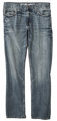 Mossimo Supply Co. Men's Slim Fit Straight Leg Jeans - Stone Vintage