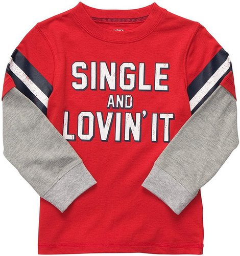 Carter's Toddler Vday Tee Double Layer - Red