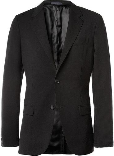 Lanvin Black Slim-Fit Unstructured Suit Jacket