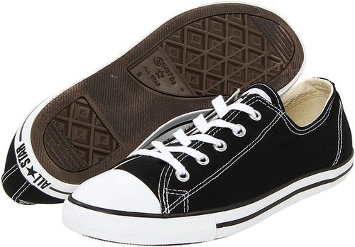 Converse - Chuck Taylor All Star Dainty Ox (Black) - Footwear