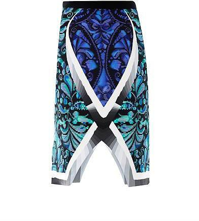 Peter Pilotto Arrow beam printed pencil skirt