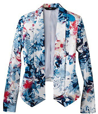Mossimo® Women's Printed Sateen Blazer Jacket