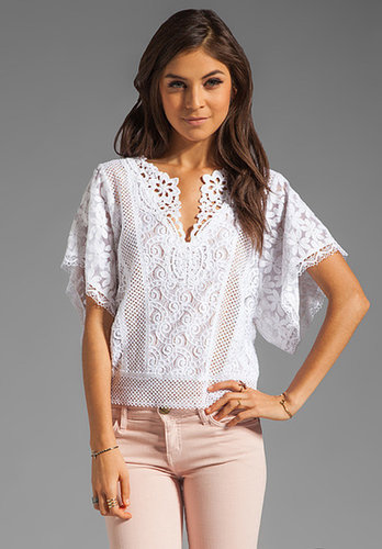 Nanette Lepore Beauty Lace Top
