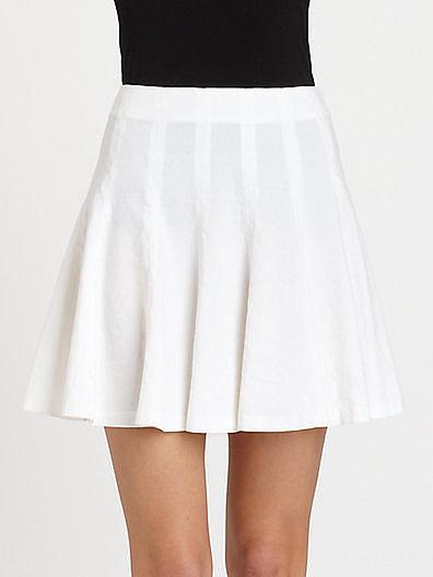 Theory Eliza Pleated Skirt