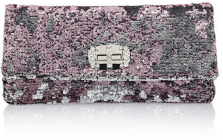 Miu Miu Two-tone sequined shoulder bag