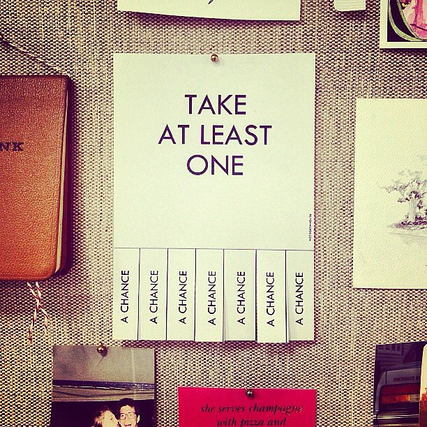 Smart advice from the New York-based designer. Source: Instagram user rebeccaminkoff