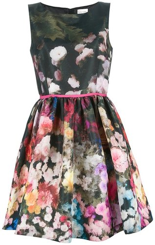 Red Valentino floral dress