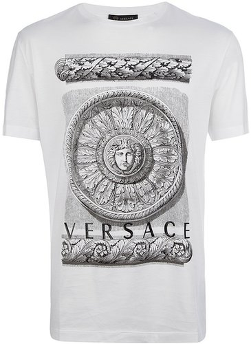 Versace 'Rose Window Medusa' t-shirt