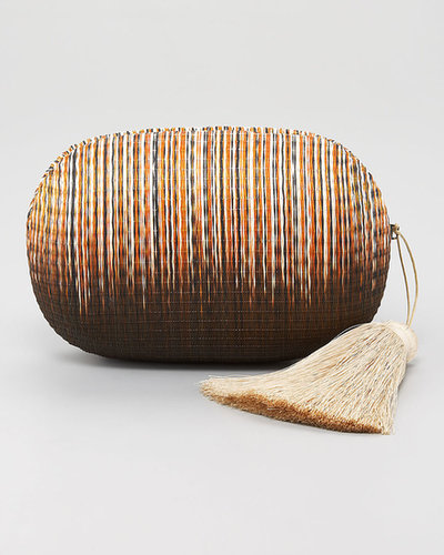 Kotur Barnes Straw Clutch Bag