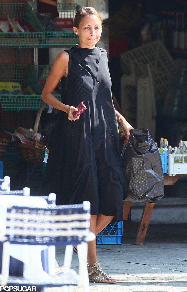 Nicole Richie did some shopping in Portofino.