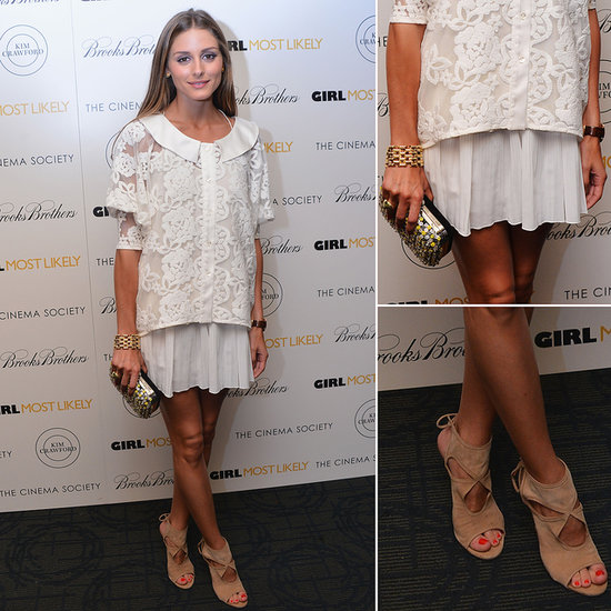 Get Olivia Palermo's All-White and Accessorised Look Here