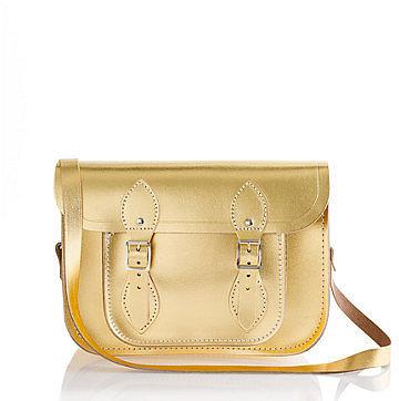 The Cambridge Satchel Company® small metallic satchel