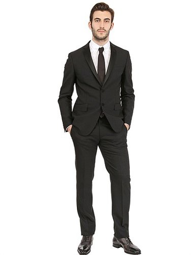 Tonello - Tuxedo Slim Collar Stretch Faille Suit