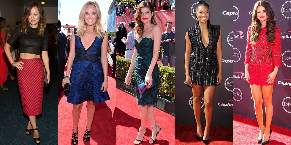 Plenty of Sparkle at the ESPYs — Who Had the Slam-Dunk Look?
