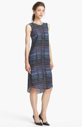 Theyskens' Theory 'Dritto Iding' Print Silk Dress