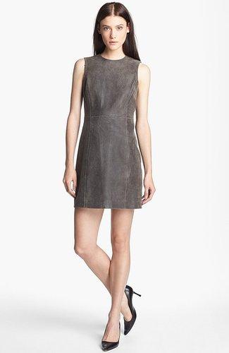 Theyskens' Theory 'Ducka Nico' Leather Shift Dress