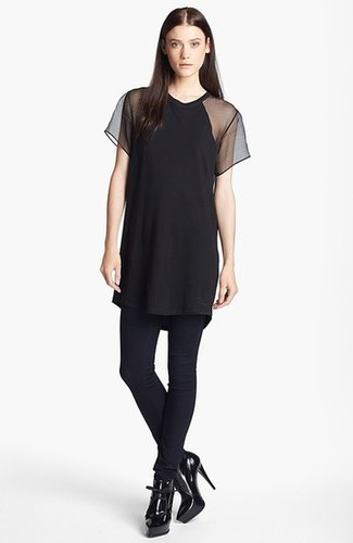 Theyskens' Theory 'Costril Fintana' Sheer Back Tee