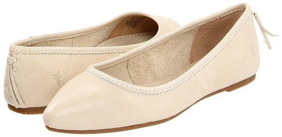 Frye - Regina Ballet (Black) - Footwear