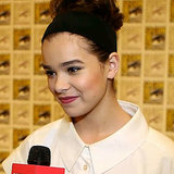 Hailee Steinfeld Interview at Comic-Con 2013 | Pictures