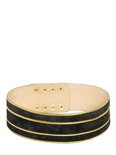 60mm Suede High Waisted Belt