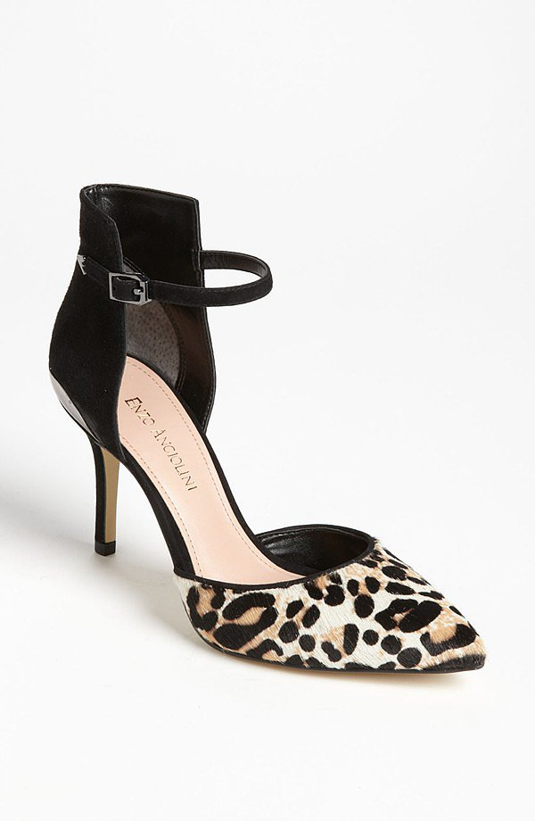 With a high back and a leopard toe, these Enzo Angiolini ankle-strap heels ($80, originally $120) are sure to be a party favorite.