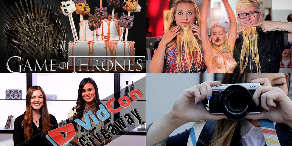 This Week on PSGG: VidCon Giveaway, Game of Thrones Cake Pops, and More!