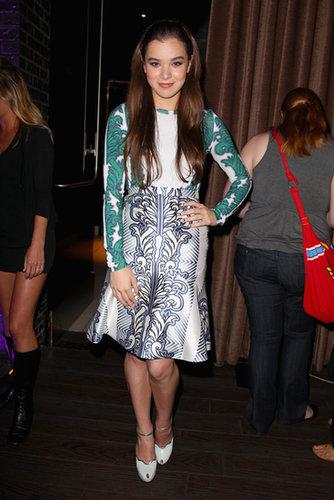 Hailee Steinfeld attended a VIP celebration on Thursday night.