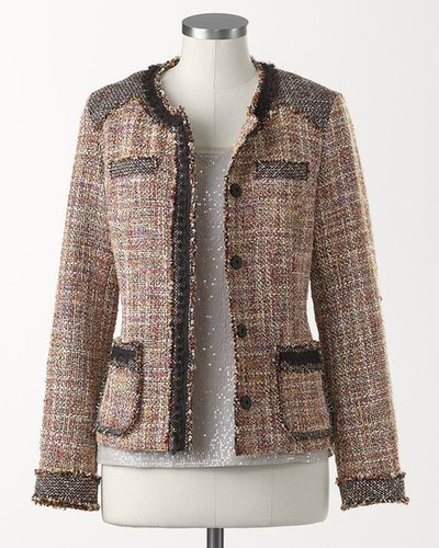 Vendome tweed jacket