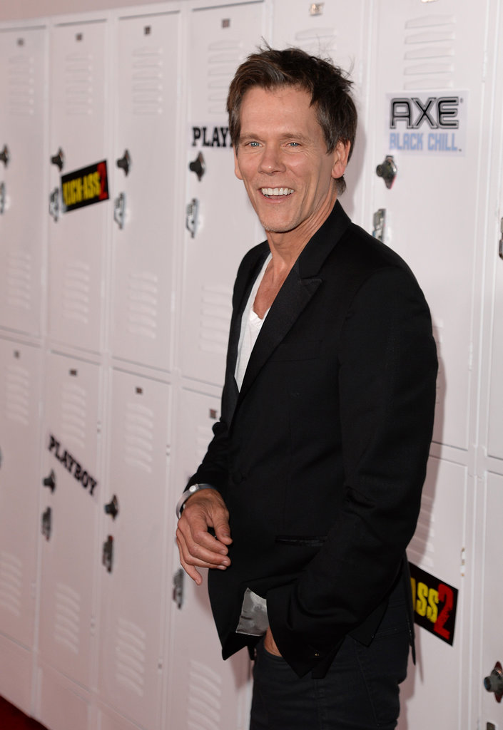 Kevin Bacon attended Comic-Con.