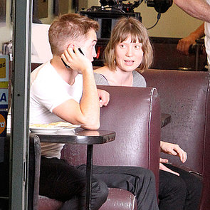 Robert Pattinson And Mia Wasikowska On Maps To The Stars Set