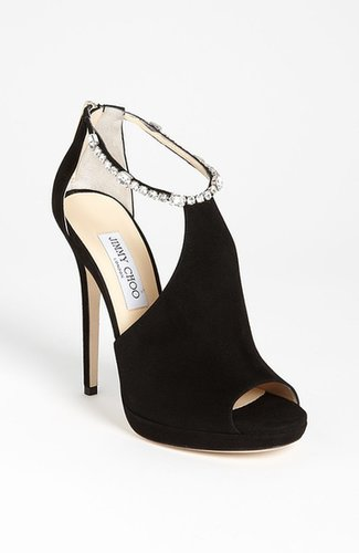Jimmy Choo Crystral Strap Sandal
