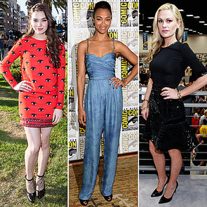 See How The Stars Frock Up at 2013 Comic-Con
