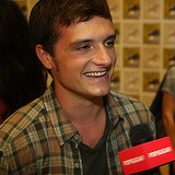 Josh Hutcherson Interview For Catching Fire at Comic-Con