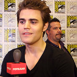 Paul Wesley Interview About The Vampire Diaries Season 5
