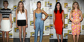 Jennifer Lawrence's Midriff, Zoe Saldana's Jumpsuit, and More Best-Dressed at Comic-Con
