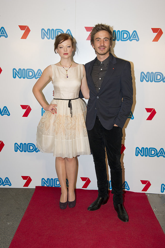 Sarah Snook and ryan corr