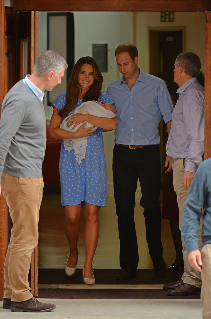 The world watched as the Duke and Duchess of Cambridge came through the doors of St. Mary's Hospital with the royal baby.