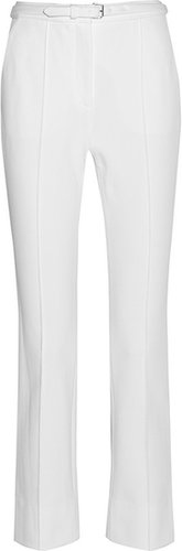 Diane von Furstenberg Georgia cropped stretch-twill pants