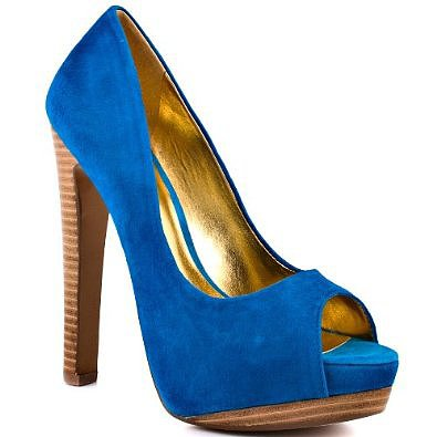 Women's Heiress Peep-Toe Pump