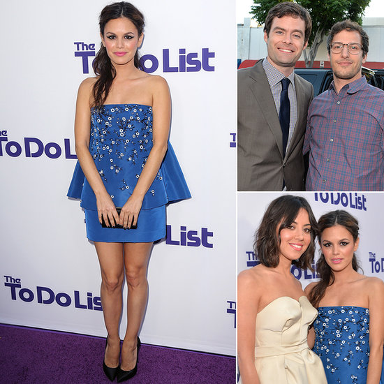 Rachel Bilson Checks Stealing the Show Off Her To-Do List With Her Funny Friends