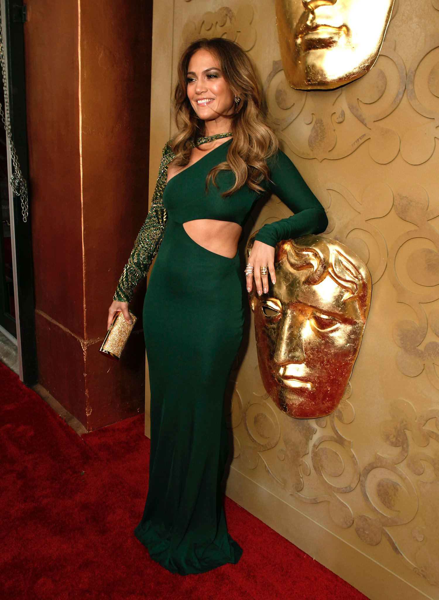 A revealing Pucci gown for the 2011 BAFTA Brits to Watch Event.