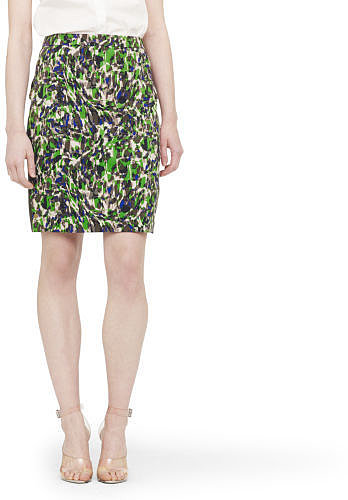 Carey Printed Pencil Skirt
