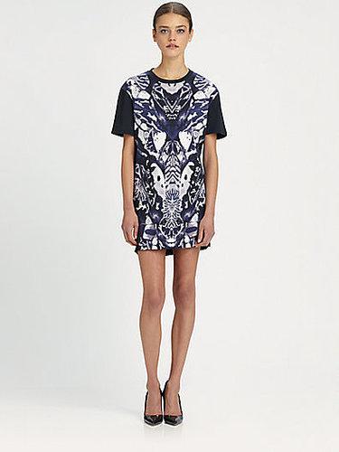 McQ Alexander McQueen Printed T-Shirt Dress