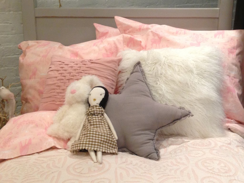 A little princess can never have too many amazing pillows . . .