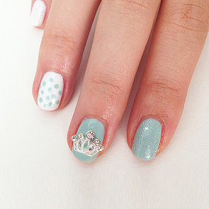 Royal Baby Nail Art Design