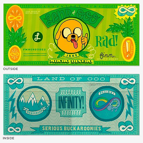 Adventure Time Wallets