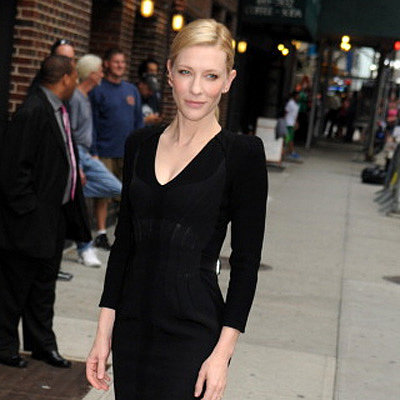 Cate Blanchett Interview on Late Show With David Letterman